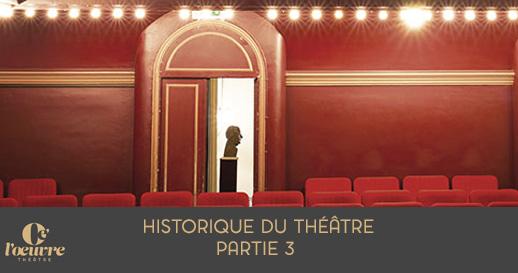 Histoire du Théâtre de l'Œuvre Troisième Époque : 1960 à Aujourd'hui