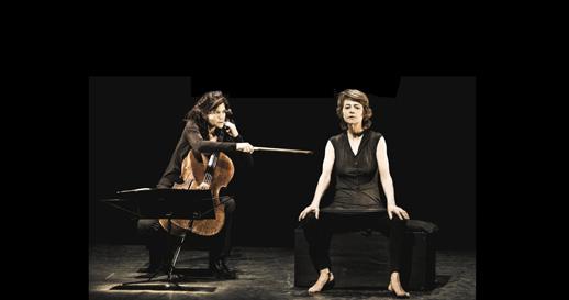 DANSES NOCTURNES avec Charlotte Rampling et Sonia Wieder-Atherton