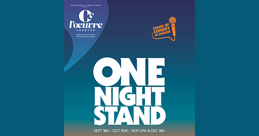 One Night Stand : le rendez-vous du stand-up américain à Paris